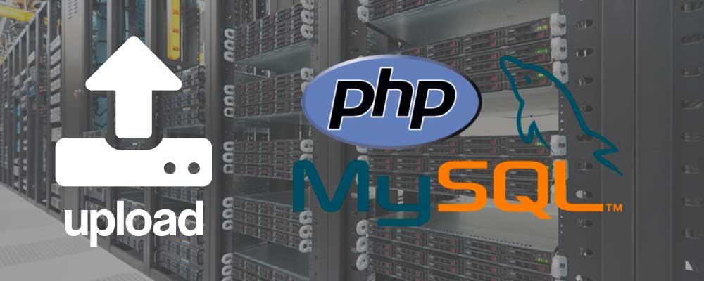 Upload de arquivos e imagens usando PHP e MYSQL