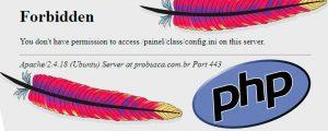 Apache 2 - Restringir acesso à determinados tipos de arquivos