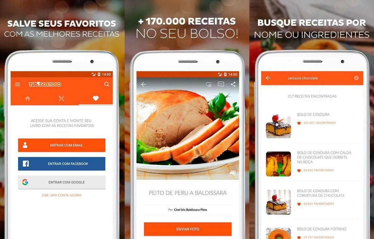 Tudo Gostoso Receitas - Zero Bugs criação de sites e aplicativos