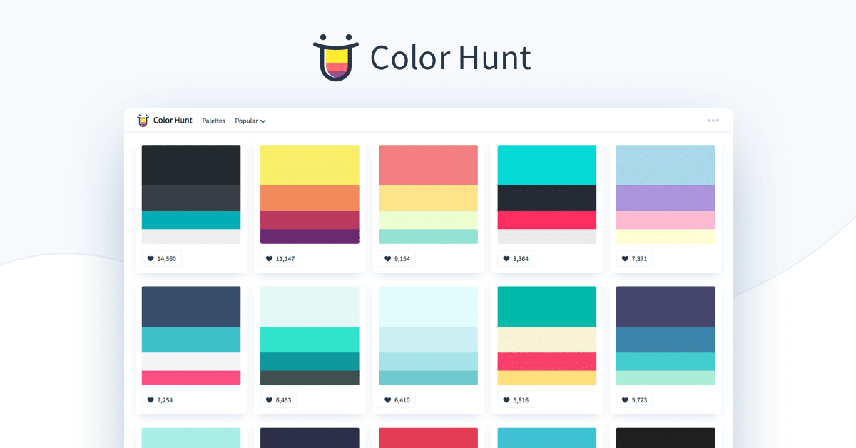 Dica da Semana: Cores com Color Hunt!