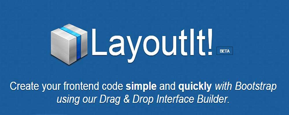 Layout it: criação rápida de interfaces gráficas com Bootstrap
