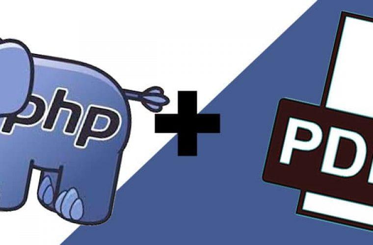 Gerando arquivo PDF usando PHP e HTML